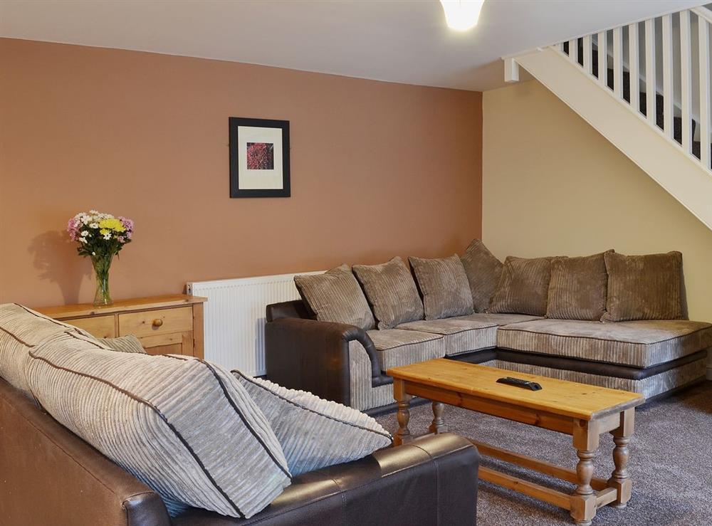Living room at Kittiwake Cottage,