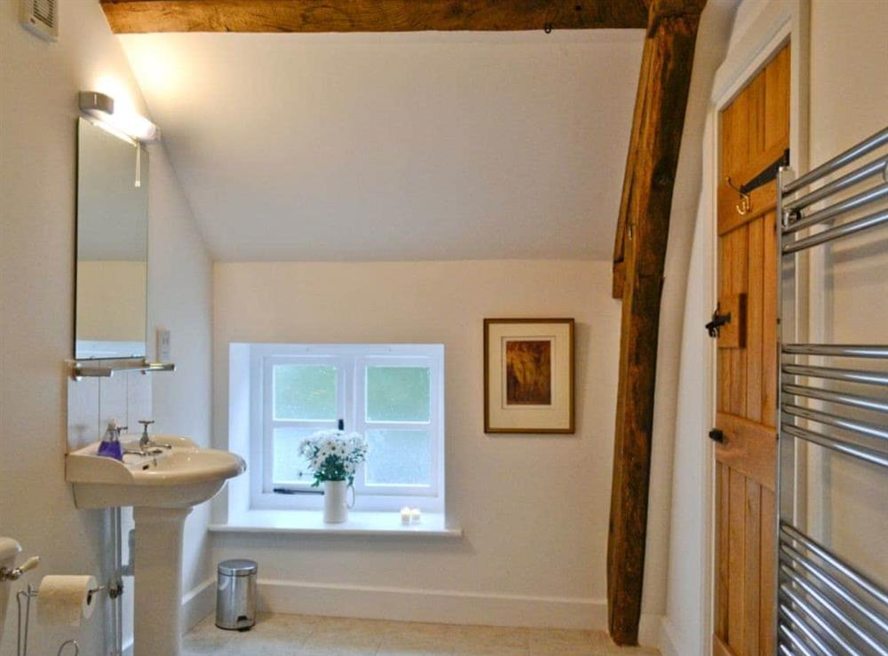 Bathroom at The Grooms Cottage in Ashperton, near Ledbury, Herefordshire