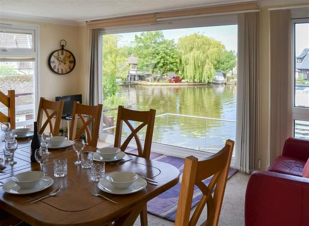 Dining Area at The Haven in Hoveton, near Wroxham, Norfolk