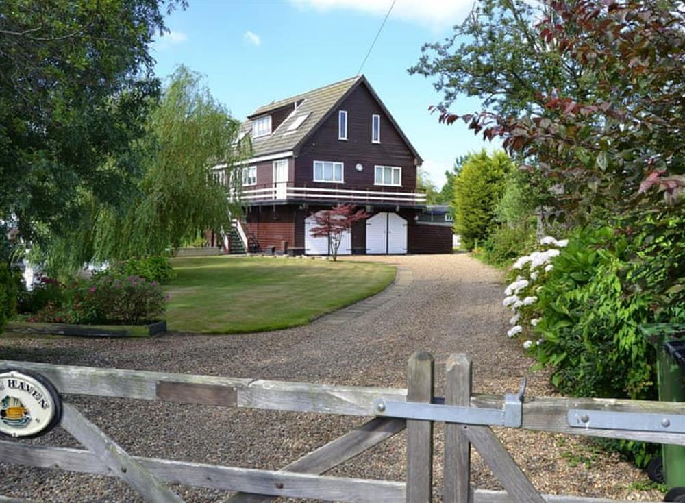 Exterior at The Haven in Hoveton, near Wroxham, Norfolk