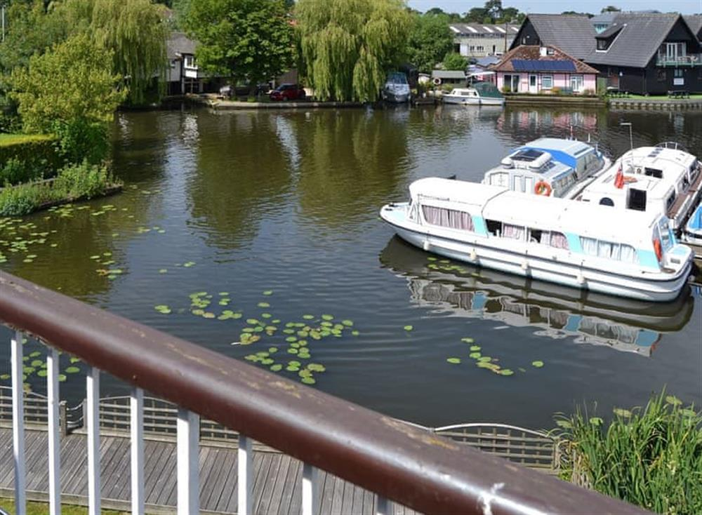 View at The Haven in Hoveton, near Wroxham, Norfolk