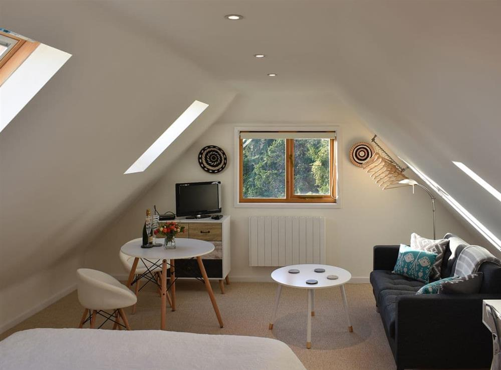 Delightful first floor living area at The Hayloft in Wineham, near Henfield, Dorset