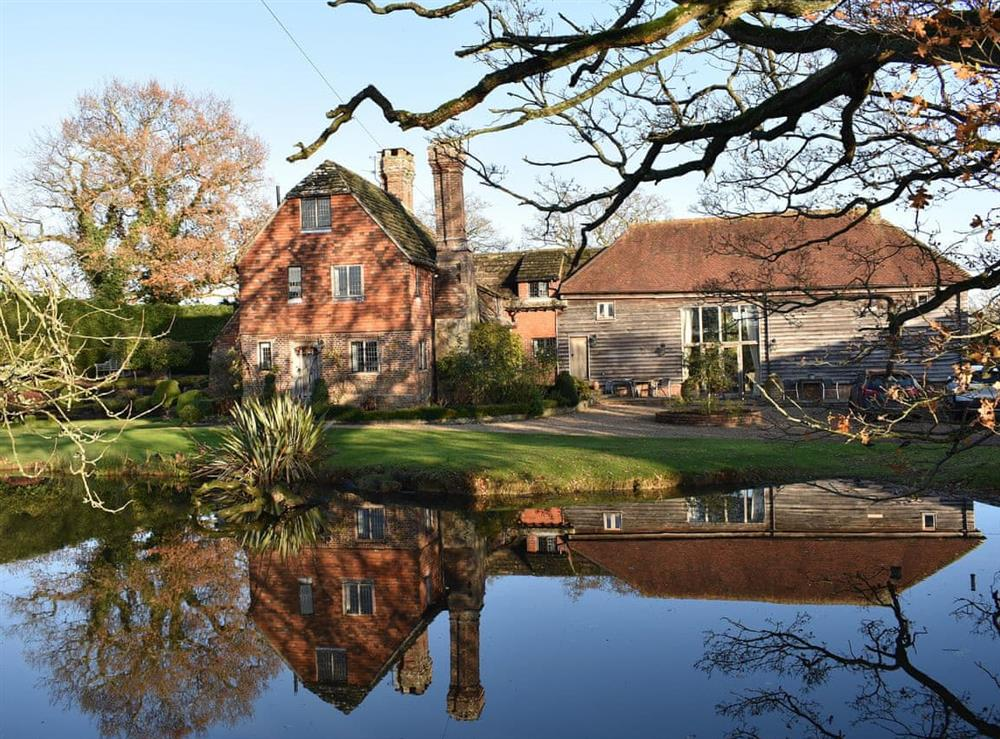 Situated in the grounds of a beautiful traditional Sussex house at The Hayloft in Wineham, near Henfield, Dorset