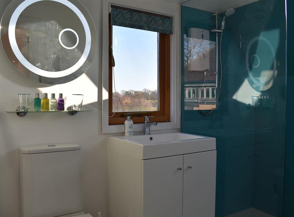 Wonderful shower room at The Hayloft in Wineham, near Henfield, Dorset