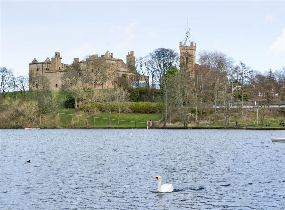 Linlithgow Palace at The Haymakers in Linlithgow, near Edinburgh, West Lothian