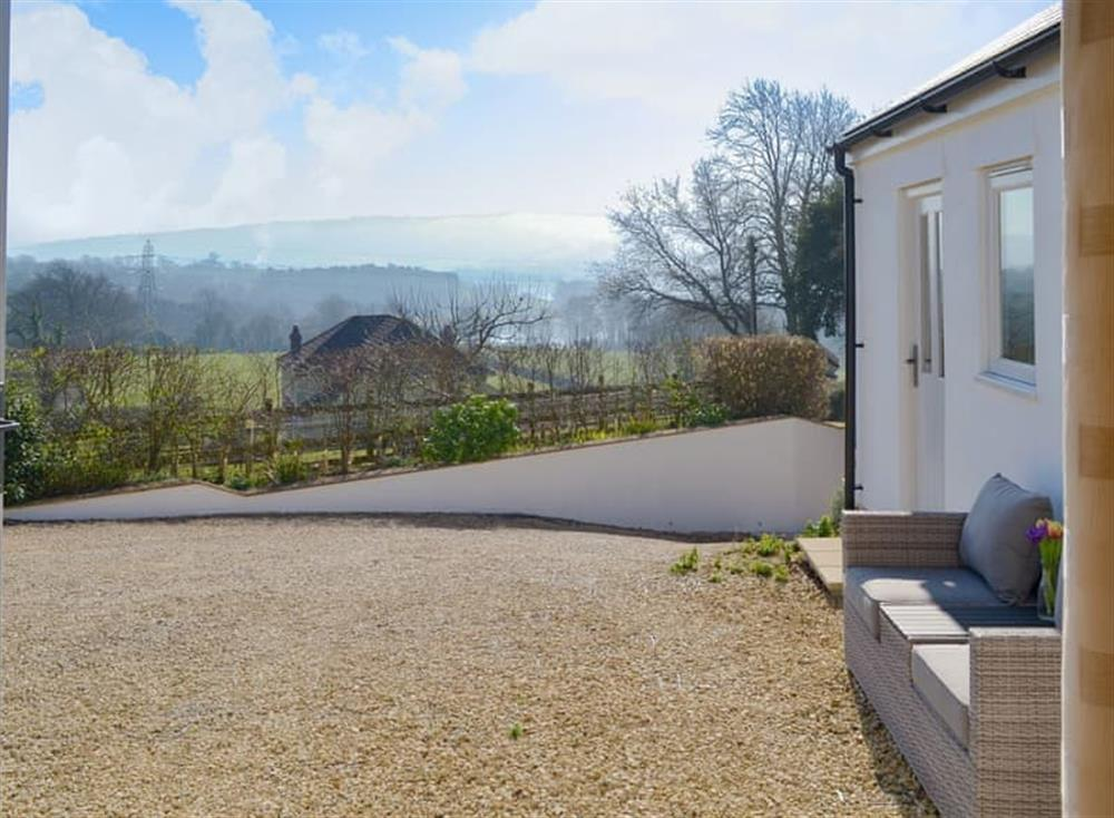 Delightful views from the property at The Hermitage in Butcombe, near Wells, Avon