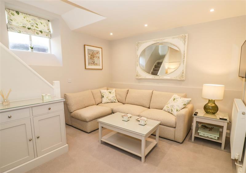 Enjoy the living room at The Hideaway at Church House, Temple Grafton near Bidford-On-Avon
