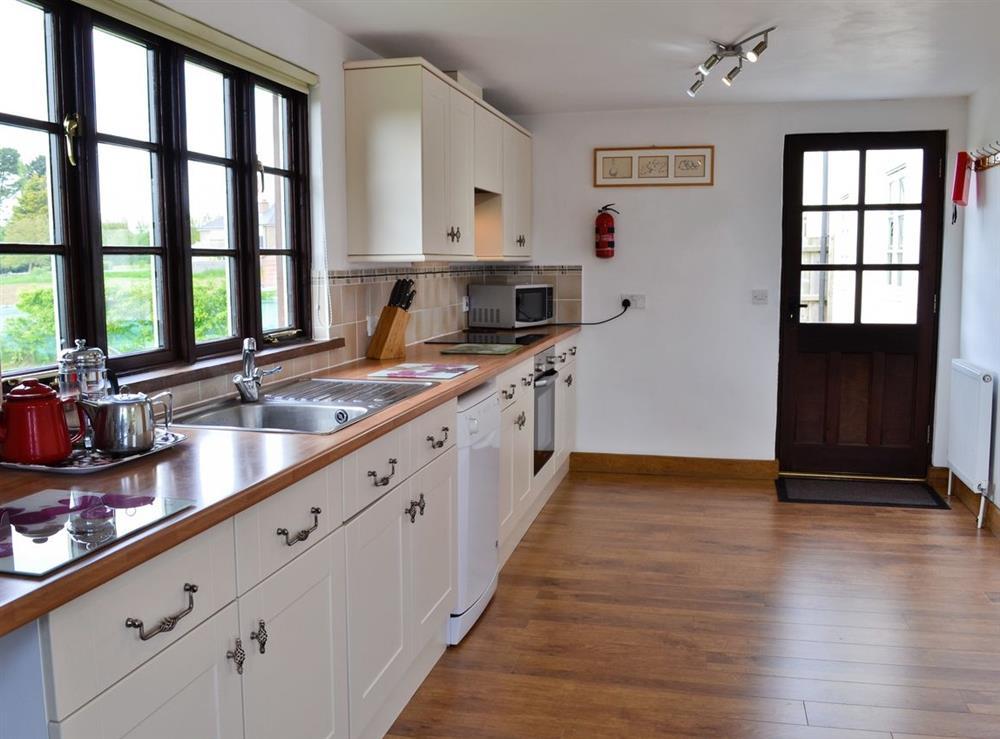 Kitchen at The Kestral in Sturminster Newton, Dorset