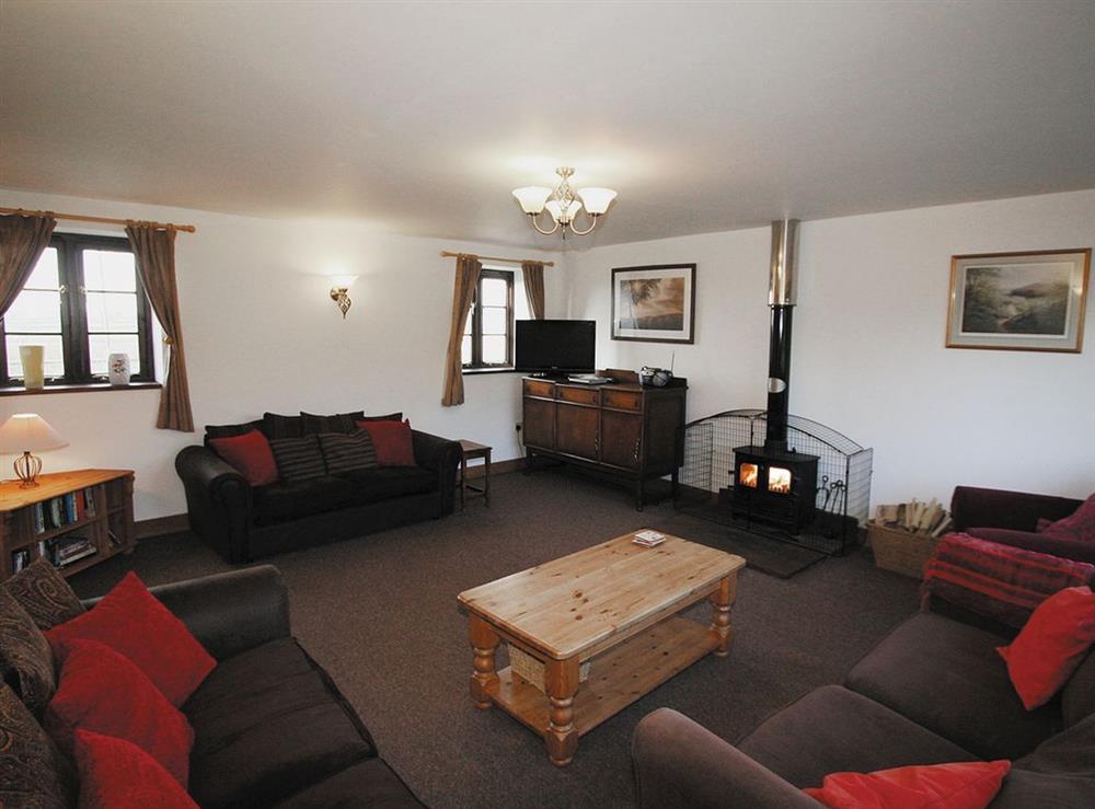 Living room at The Kestral in Sturminster Newton, Dorset