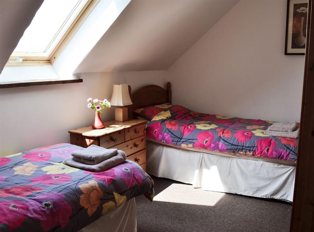 Twin bedroom at The Kestral in Sturminster Newton, Dorset