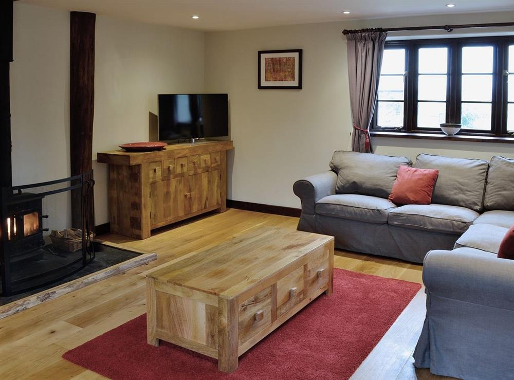 Living room/dining room at The Kite in Sturminster Newton, Dorset