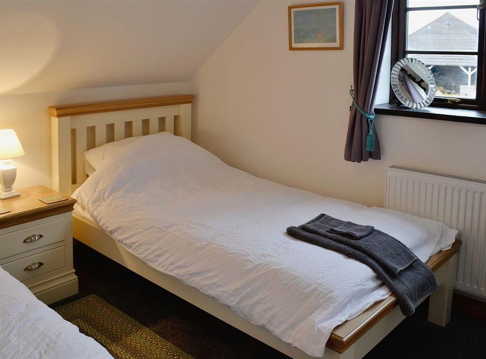 Twin bedroom at The Kite in Sturminster Newton, Dorset