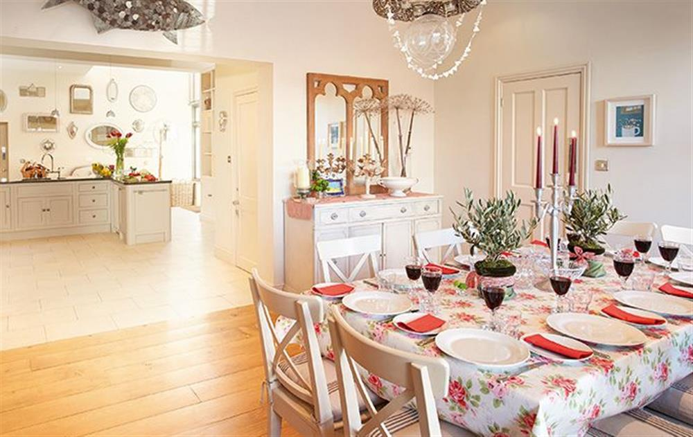 Ground floor: Open plan dining area at The Lawns, Sheringham