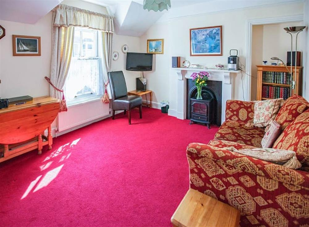 Spacious living/dining area at The Liffey in Dartmouth, Devon