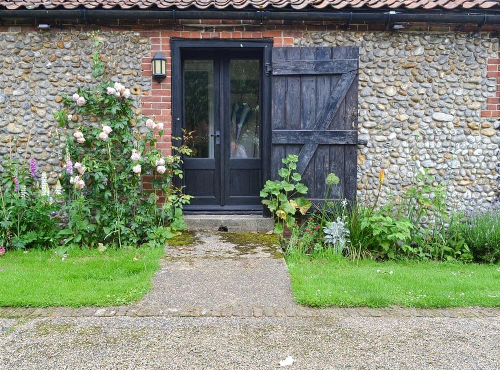 Exterior at The Little House in Hempstead, near Holt, Norfolk
