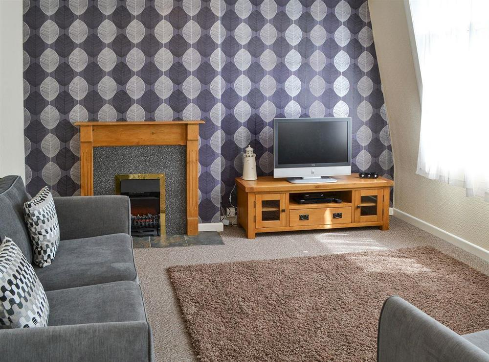 Comfortable living room at The Lookout in Cromer, Norfolk