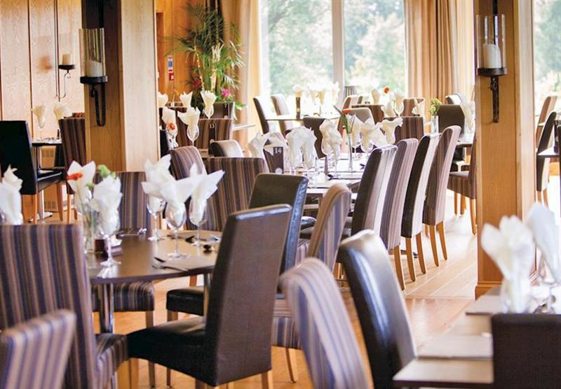 Restaurant at The Manor Resort in Laceby, Lincolnshire
