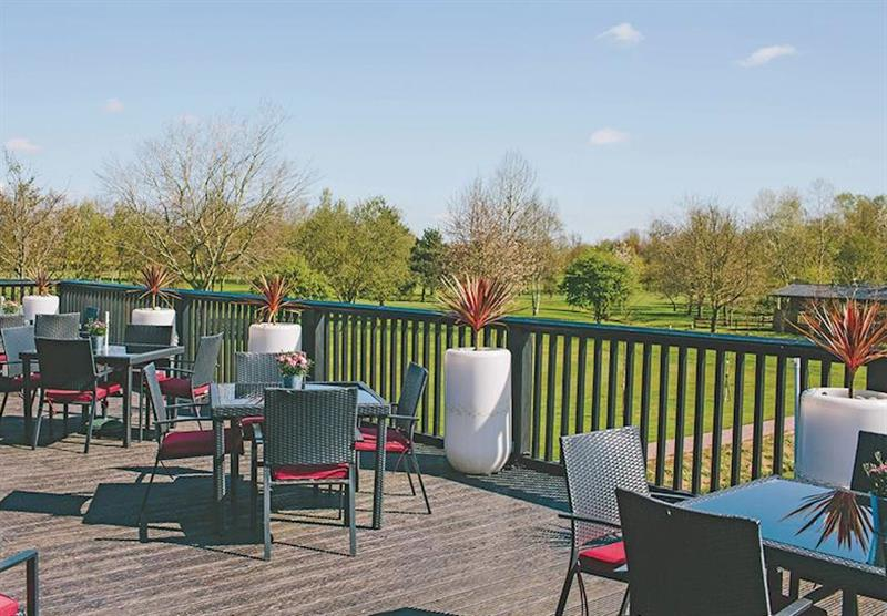 Restaurant at The Manor Resort Pods in Laceby, Lincolnshire