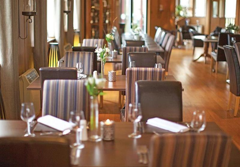 Restuarant at The Manor Resort Pods in Laceby, Lincolnshire