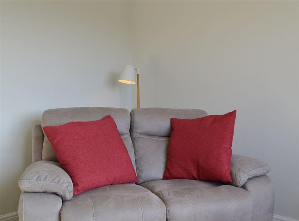 Living room at The Milk Barn in Stanton, near Ashbourne, Staffordshire