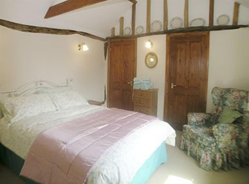 Double bedroom at The Milking Parlour in Fressingfield, Eye, Norfolk