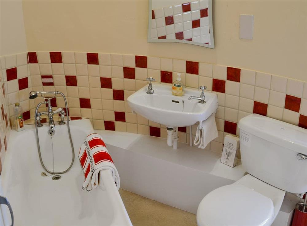 Bathroom at The Mill @ The Mill House in How Hill, near Ludham, Norfolk