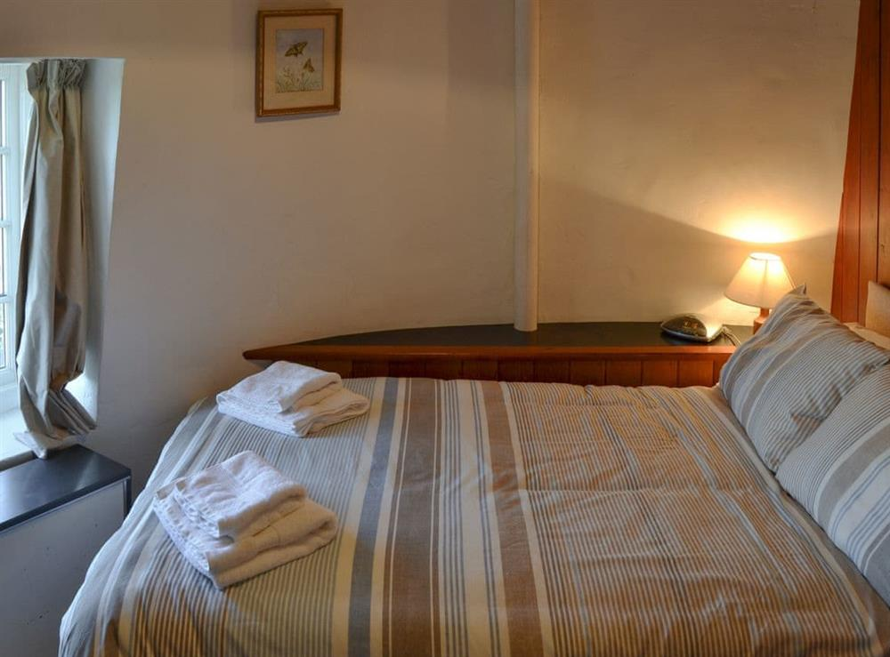 Double bedroom at The Mill @ The Mill House in How Hill, near Ludham, Norfolk