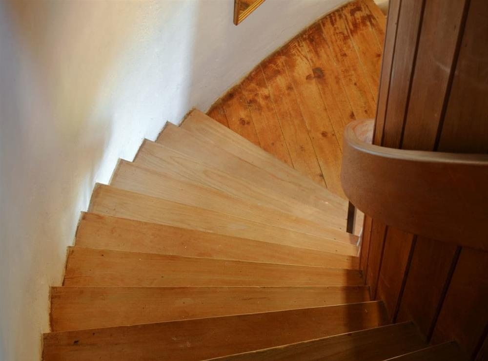 Stairs at The Mill @ The Mill House in How Hill, near Ludham, Norfolk