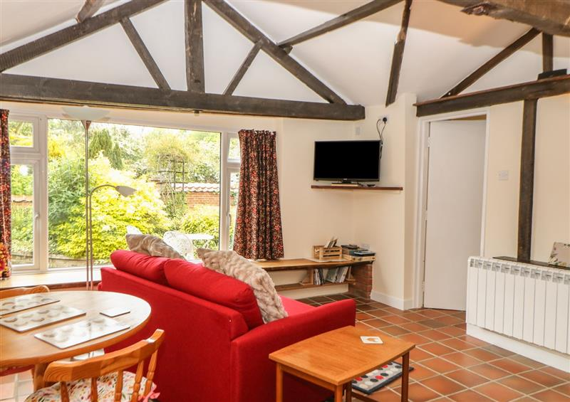 Living room at The Nest Box, Diss, Norfolk