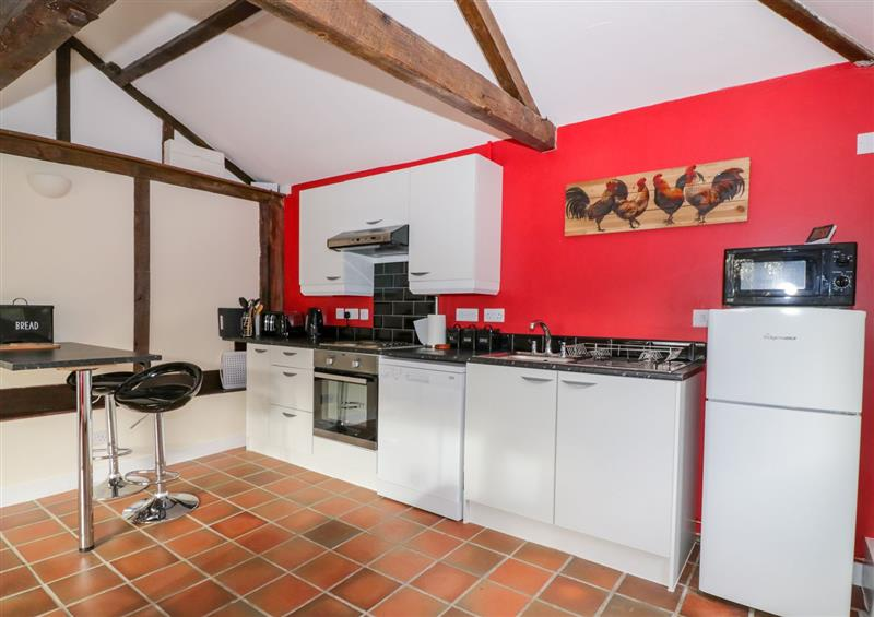 The kitchen at The Nest Box, Diss, Norfolk