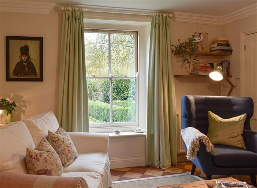 Cosy living room at The Nest in Near Diss, Norfolk