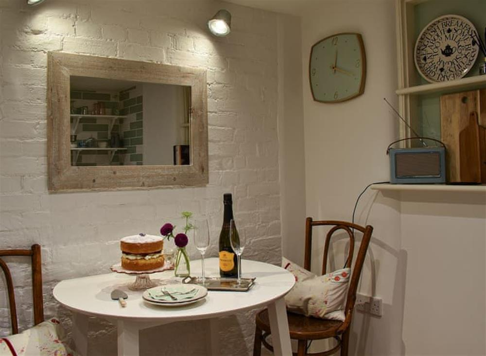 Dining area at The Nest in Near Diss, Norfolk