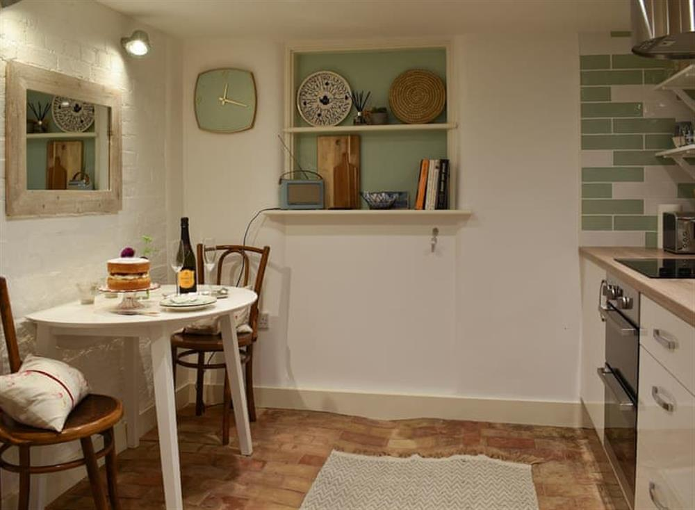 Kitchen/diner at The Nest in Near Diss, Norfolk