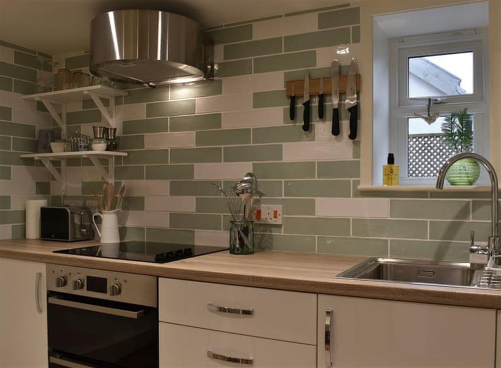 Kitchen at The Nest in Near Diss, Norfolk
