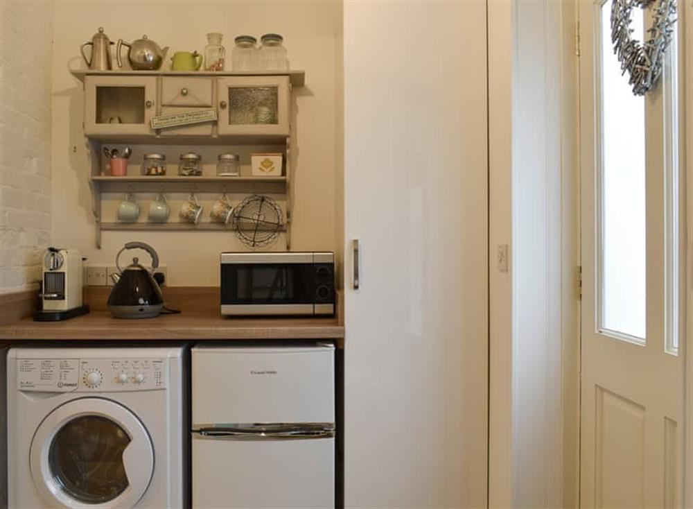 Utility room at The Nest in Near Diss, Norfolk