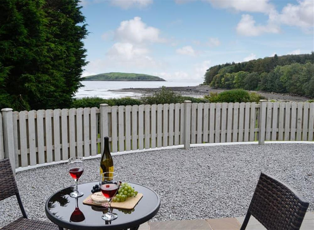 Stunning views of Balcary Bay at The Nook At Balcary in Balcary, near Auchencairn, Kirkcudbrightshire