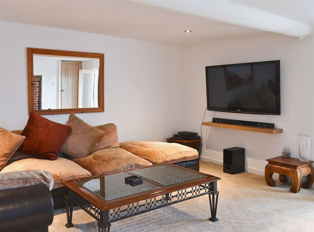 Living room at The Nook in Hemsby, near Great Yarmouth, Norfolk