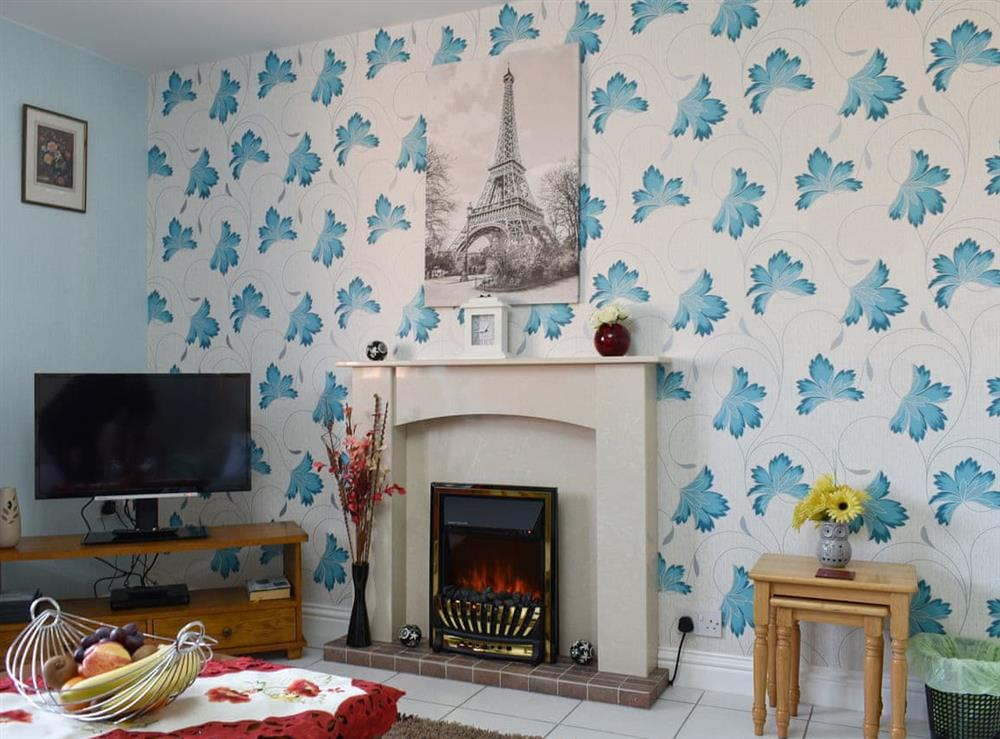Welcoming living area at The Nook in Lowestoft, Suffolk