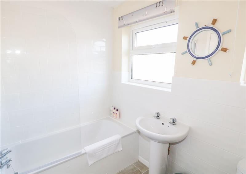 The bathroom at The Nook, Mundesley