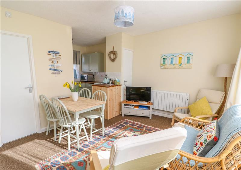The living room at The Nook, Mundesley