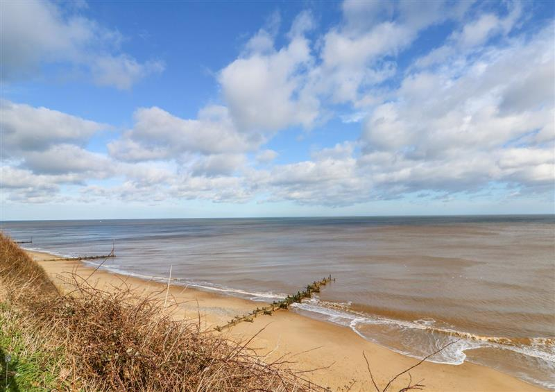 The setting at The Nook, Mundesley