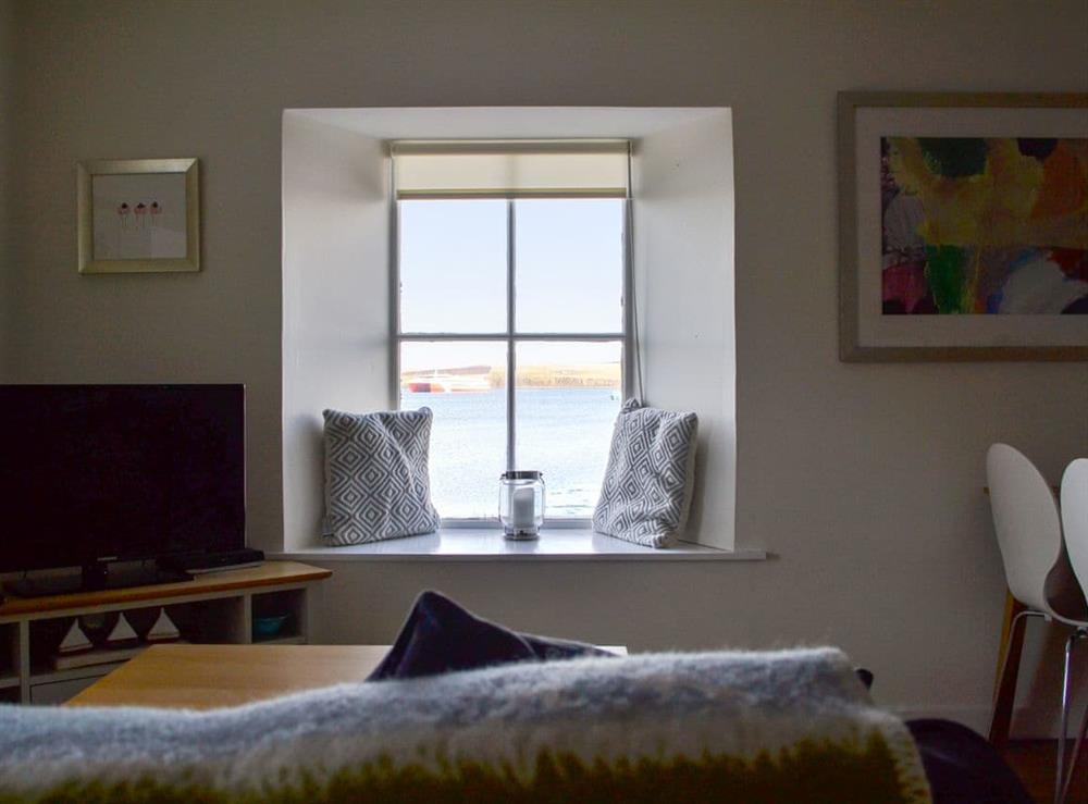 Living area with great views at The Noust in St. Margaret's Hope, Isle Of Orkney