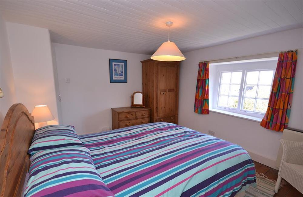 Another view of the double bedroom at The Old  Bakehouse, Dittisham
