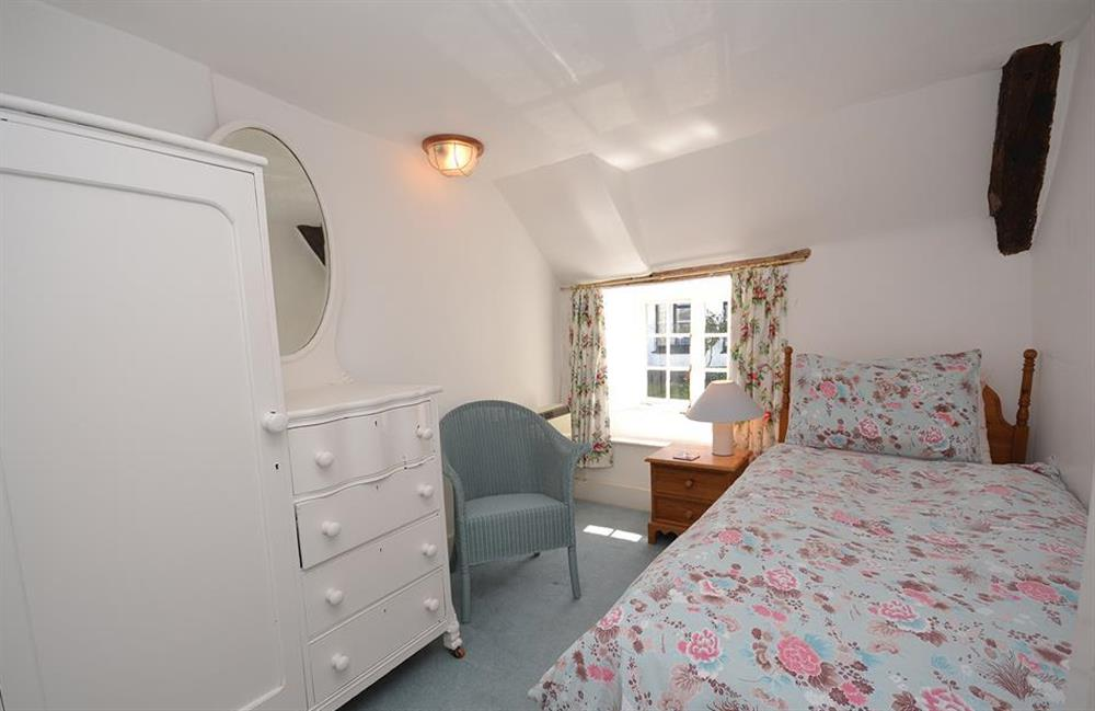 The single bedroom at The Old  Bakehouse, Dittisham