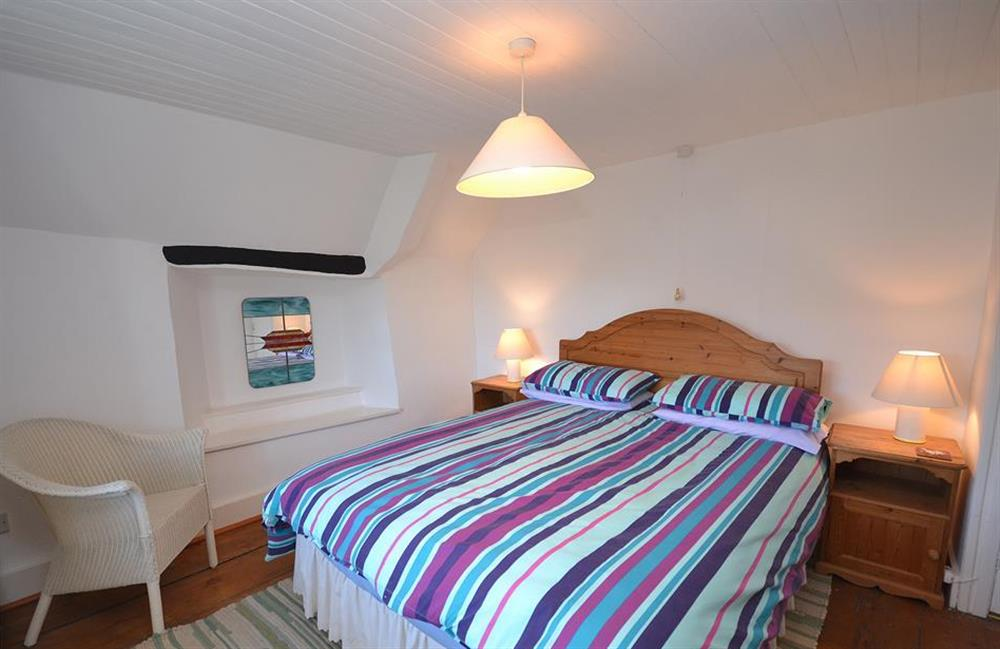 The upstairs double bedroom at The Old  Bakehouse, Dittisham