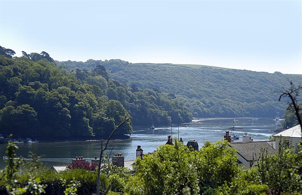 The view towards Greenways, Agatha Christies house at The Old  Bakehouse, Dittisham