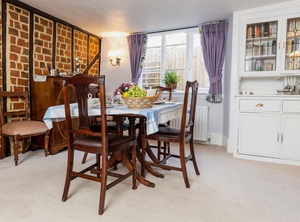 Dining room at Chalkleys,