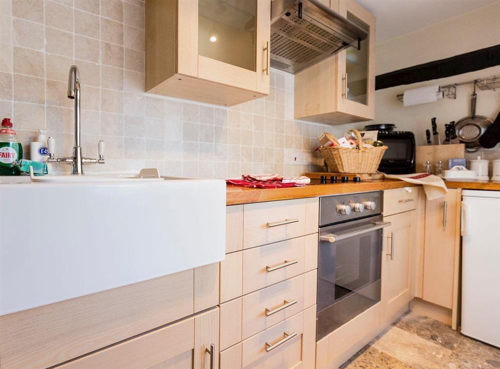 Kitchen at Chalkleys,