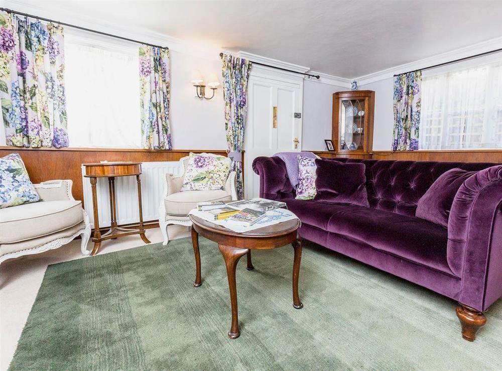 Living room at Chalkleys,