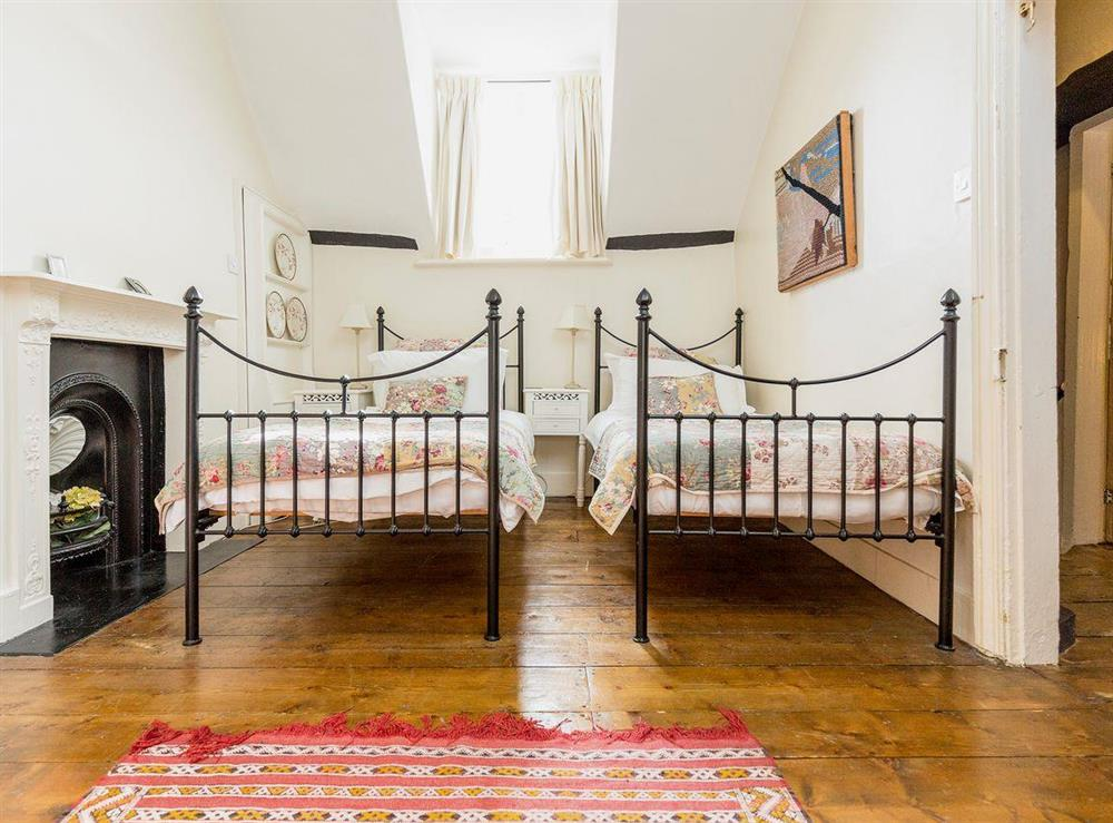 Twin bedroom at Chalkleys,